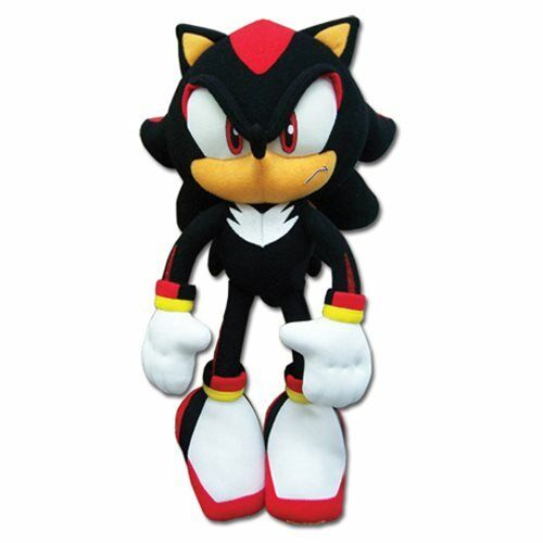Sonic Shadow Plush - Sonic the Hedgehog Shadow 12-Inch Plush NEW $27.90