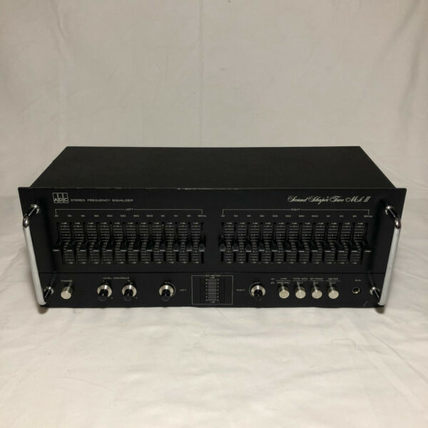 ADC Stereo Frequency Equalizer Sound Shaper Two Mark II