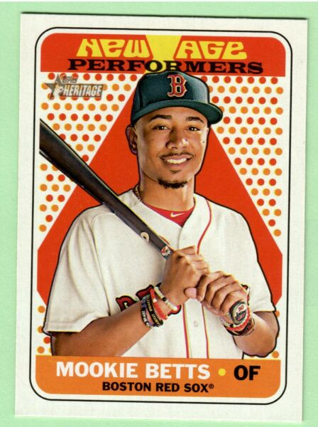 2018 Topps Heritage New Age Performers - Complete Your Set U Pick