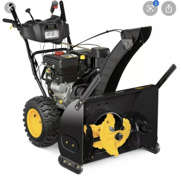 New PICK-UP ONLY Craftsman Pro Series 28 357cc 3-Stage Power Snow Thrower Blower