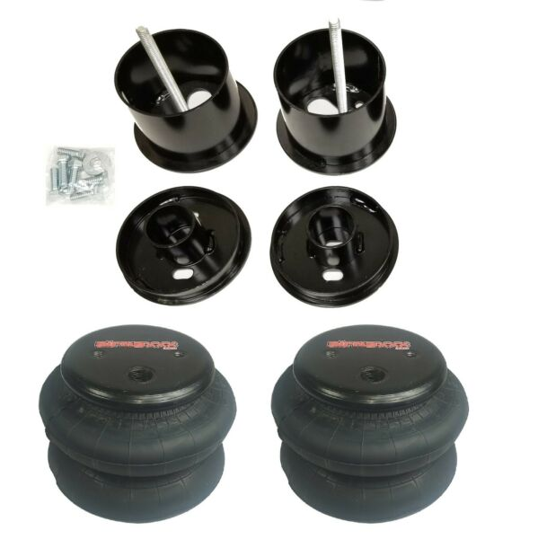 63-64 Cadillac Front Air Ride Suspension Kit Airmaxxx 2600 Airbags Mounting Cups