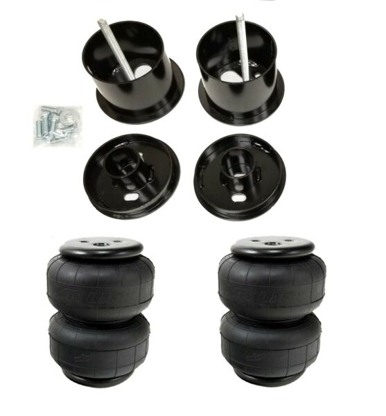 63-64 Cadillac Front Air Ride Suspension Kit AirLift D2500 Airbags Mounting Cups