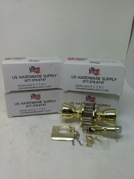 US Hardware Supply Door Locks 67767 ( Lot Of 4)