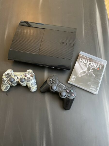 ps3 console with COD