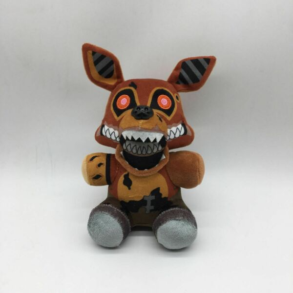 Five Nights At Freddy's The Twisted Ones Foxy Plush Doll Toy FNAF 6