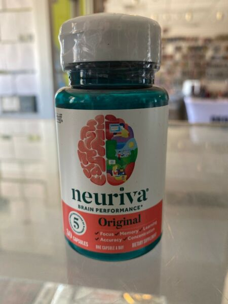 NEURIVA Original Brain Performance Health For Focus Memory Learning 30 Exp.05/21