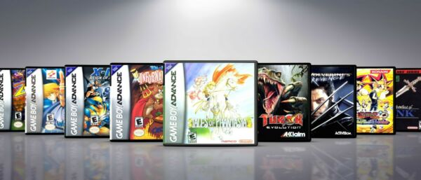 Custom Covers and Cases for Gameboy Advanced GBA: Titles H L. NO GAMES $9.50