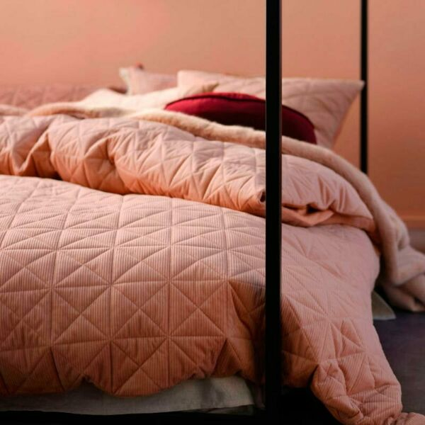 Linen House Heath Terracotta Quilt Cover Set AU $184.99