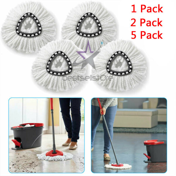 Replacement Heads Easy Cleaning Mopping Wring Refill Mop for O Cedar Spin Mop