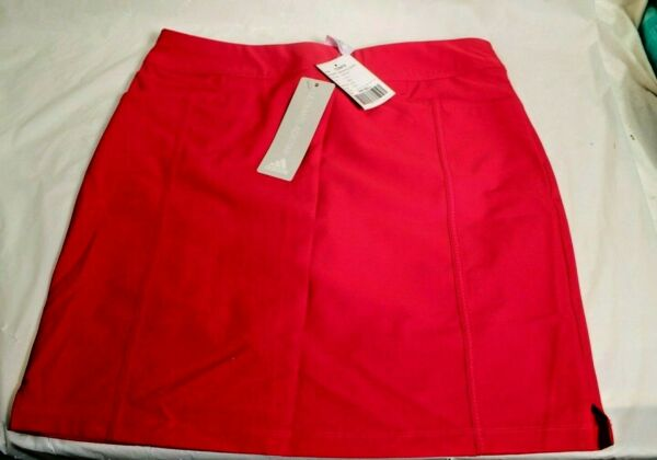 Womens Adidas Adistar Golf Skort Size Small S Energy Pink / Red New NWT CD9474