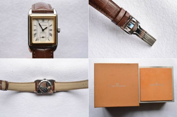 Girard Perregaux Richeville 2520 Solid 18K Gold & Steel In-House Automatic Watch $1,957.64