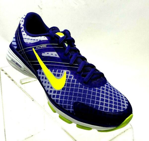 NIKE Dual Fusion TR 2 Women's Size 6 Purple Volt Running Shoes #F17