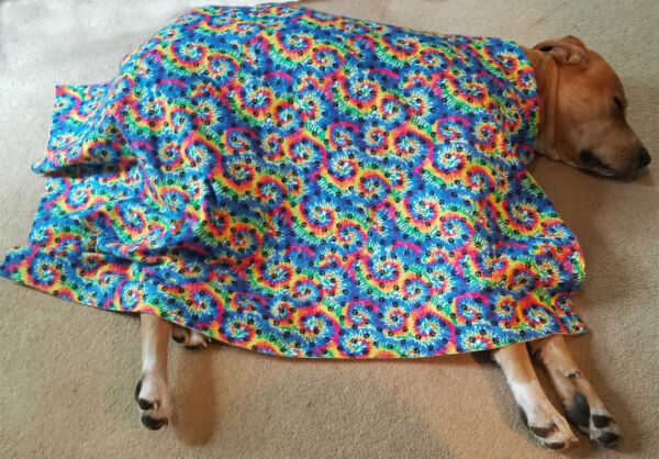 Very Nice Flannel Weighted Dog Blankets Washable HandMade amp; Rugged $27.00