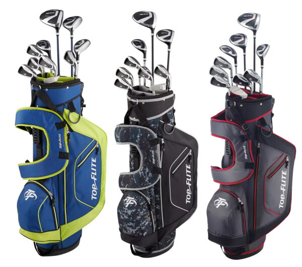 Top Flite XL 13-Piece Complete Golf Set w Bag Right Handed - 2020 - Pick Color