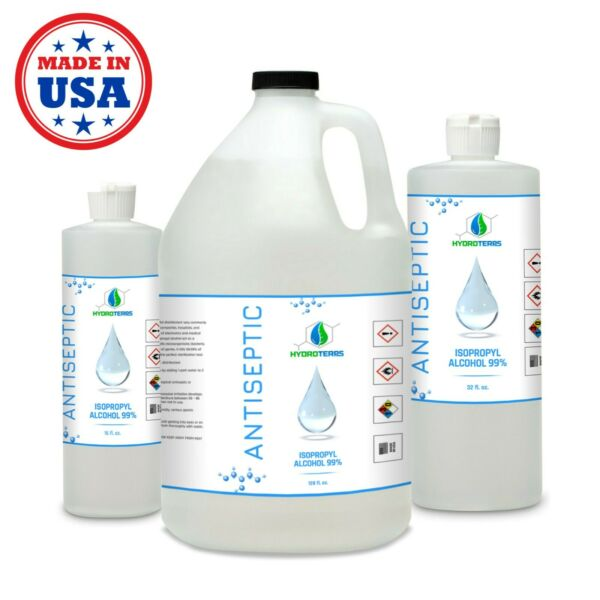 Isopropyl Alcohol 99% for Cleaning Sanitizing and Disinfecting Rubbing Alcohol
