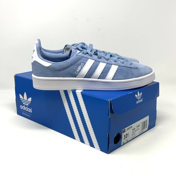 NEW adidas Sneakers Mens Size 10.5 Ash Blue Campus - With Box