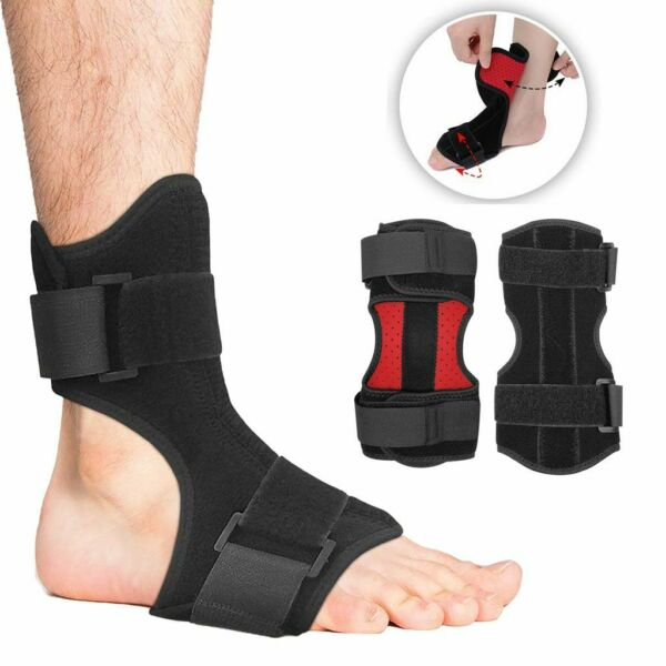 Foot Drop Support Ankle Brace Orthosis Plantar Fasciitis Correction Night Splint