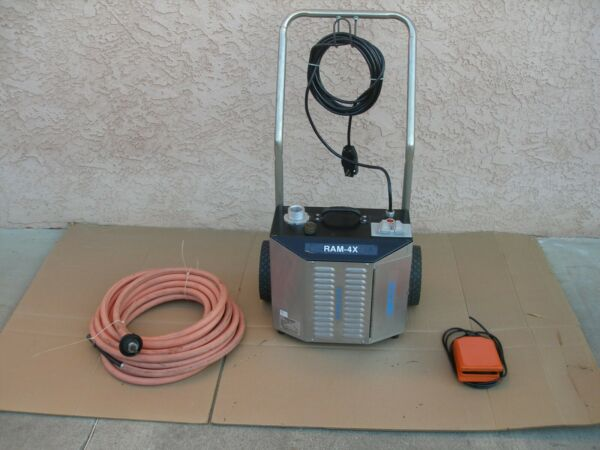 GOODWAY REAM A MATIC RAM 4X BOILER TUBE CLEANER $2200.00