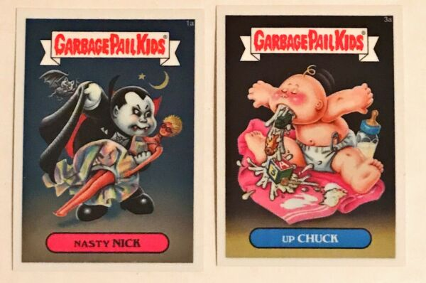 2013 GARBAGE PAIL KIDS CHROME 1 - COMPLETE SET - 110 CARDS