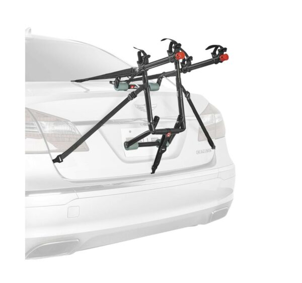 Allen Sports Deluxe 2 Bike Trunk Mount Rack Model 102DN R $47.99