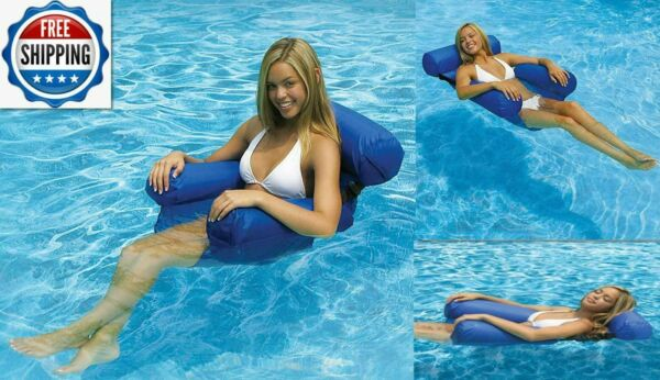 Water Chair Inflatable Swimming Pool Float Lounge Free Shipping $29.99