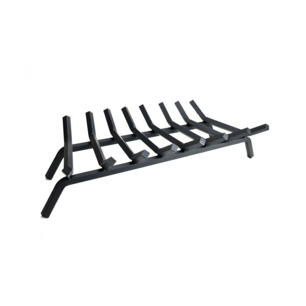 Pleasant Hearth 3 4quot; Premium Solid Steel Fireplace Grates Black 30 Inch