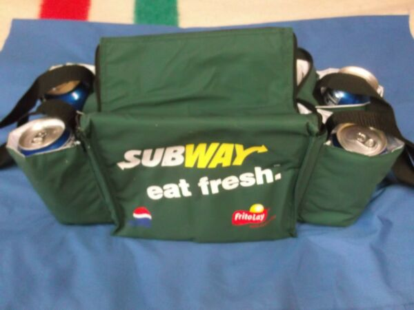 ORIGINAL SUBWAY COOLER LUNCH BAG PAIL TOTE OR CAN BE USED FOR CAR TOOLS