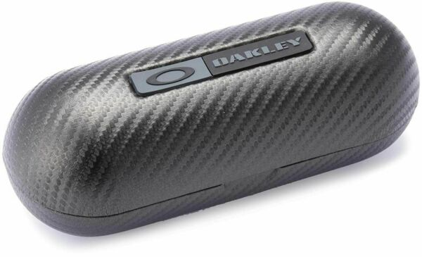 Oakley Large Carbon Fiber Hard sunglasses Case W Cleaning Cloth And Dust Bag. $18.95