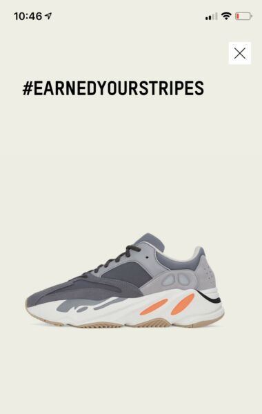 Adidas Yeezy 700 Magnet  Brand New 100% Authentic   Size US MENS 8.5 -Shipped