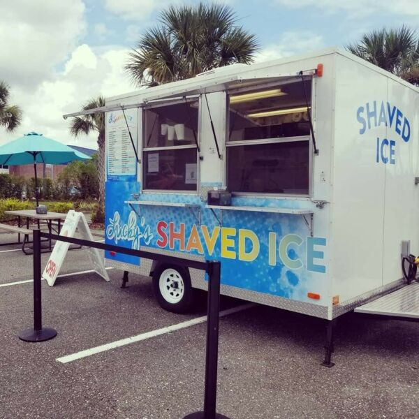 2017 10' x 7'9 Turnkey Shaved Ice Concession Trailer in Florida - Fully Loaded