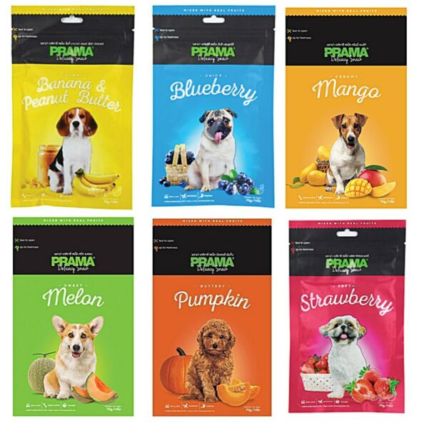 Dog Stick Snack Food Fruit Treats Puppy Meat Energy Pet Protein Chicken Real 70g $6.95