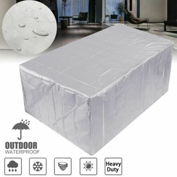 Waterproof Furniture Cover Outdoor Cover Table Chair Dust Proof Protective Case $17.99