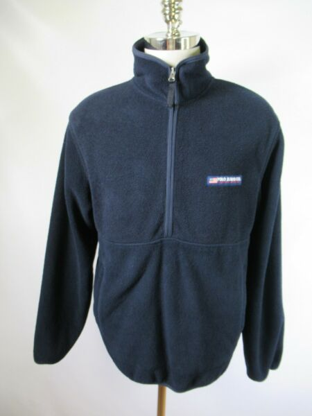 F4298 Men's Polo Jeans Co. by Ralph Lauren Pull-Over Fleece Jacket Size M $9.99