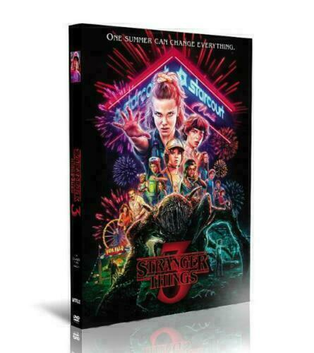 Stranger Things Complete Season 3 DVD Series Free shipping