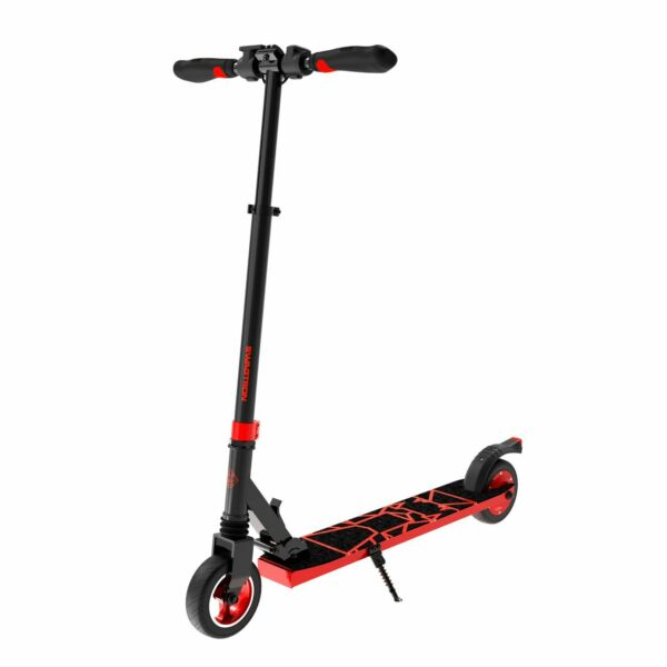 Swagtron Swagger 8 Folding Electric Scooter for Kids & Teens Lightweight Red