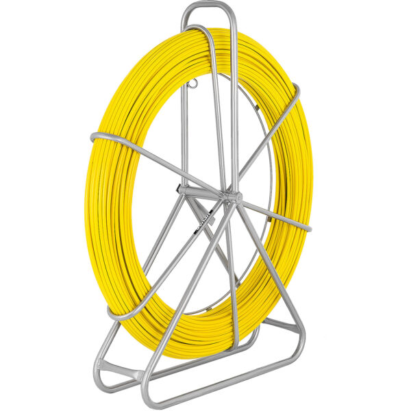 492 ft x 5 16 in Fish Tape Non Conductive Fiberglass Cable Puller Duct Rodder $145.98