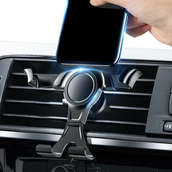 Gravity Phone Holder Air Vent Outlet Clamp Stand Bracket Car Mount Accessories $5.12