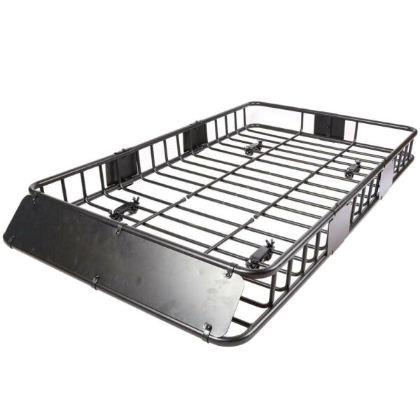 Roof Rack Cargo Basket 150 LB Capacity Extension 64quot;x 39quot;x 6quot; for SUV Truck Cars $134.58