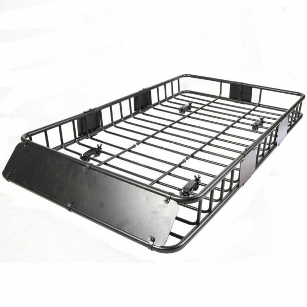 Roof Rack Cargo Basket 150 LB Capacity Extension 64quot;x 39quot;x 6quot; for SUV Truck Cars $148.58