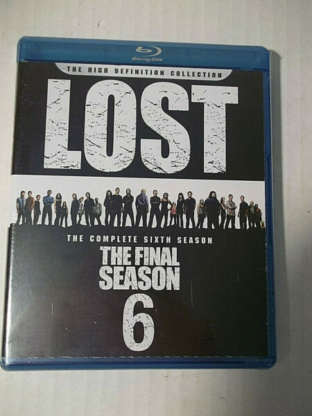 LOST Complete 6th SeasonFinal Season Blu-Ray  HighDef Collection 5 Disc Set NEW