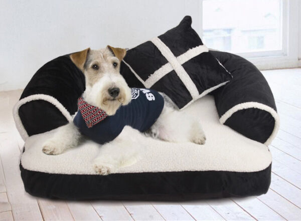 Pet Dog Bed Lounge Sofa Style Pet Bed and Comfortable Streamlined Design $25.99