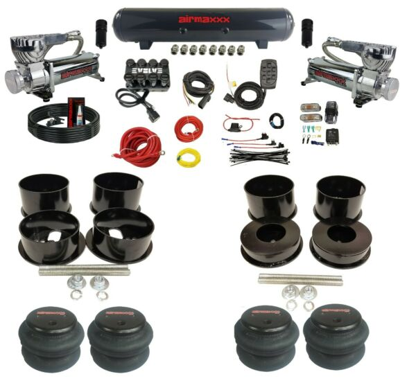 Complete Air Ride Suspension Kit For 91-96 Caprice 3/8