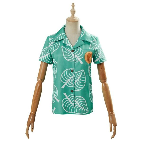 Adult Animal Crossing Timmy amp; Tommy Shirts Cosplay Costume Short Sleeve Top $23.50
