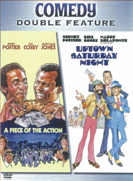 A Piece of the Action  Uptown Saturday Night - NEW DVD (2004)