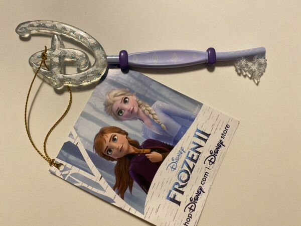 Disney Store Exclusive Frozen 2 Collectible Key Limited Edition NWT
