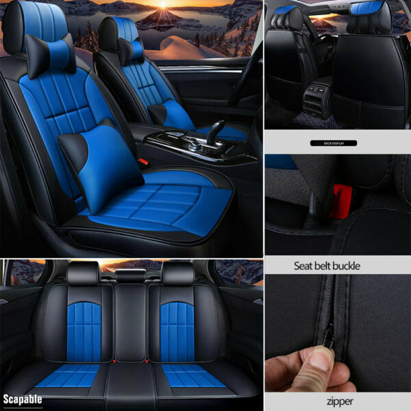Universal Car Seat Cover Set Cushion Padded Protector Soft Cover for 5 SEAT $75.00