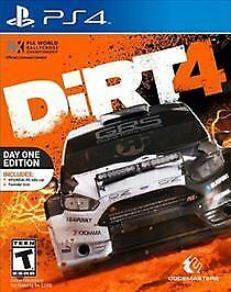 Dirt 4: Day One Edition Sony PlayStation 4 PS4 Brand New Sealed  $29.98