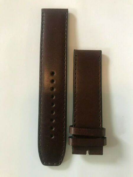 Burberry Genuine Brown Leather Watch Band. 22mm $45.00