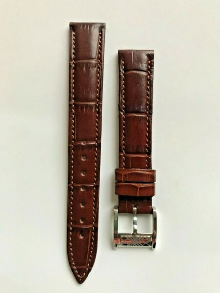Burberry Genuine Brown Leather Watch Band. 16mm $45.00
