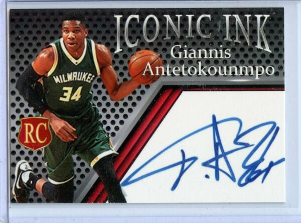 GIANNIS ANTETOKOUNMPO - 2013 LIMITED EDITION ROOKIE CARD - VARIATION - GREEN UNI $3.95